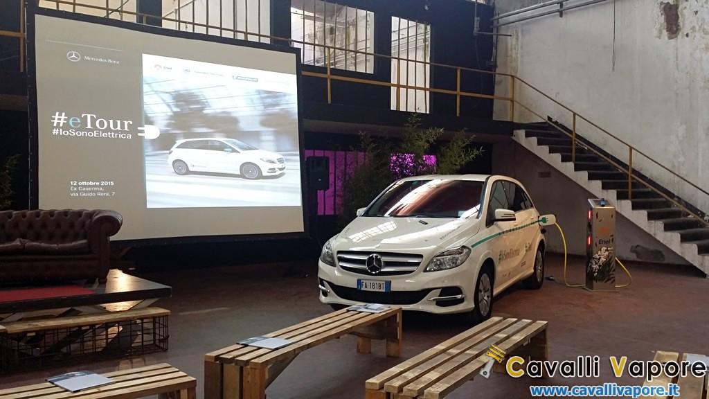 Mercedes B Electric Drive eTour