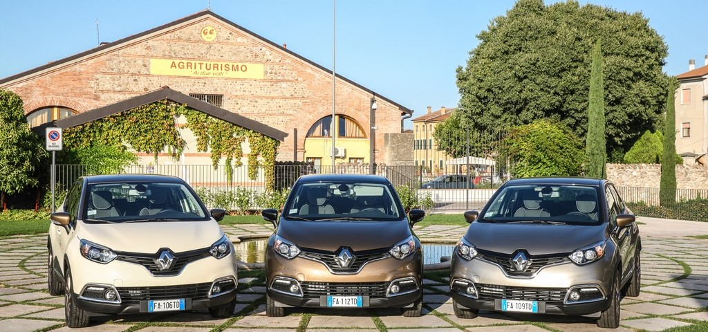 Renault Captur Iconic ed Excite Fronte