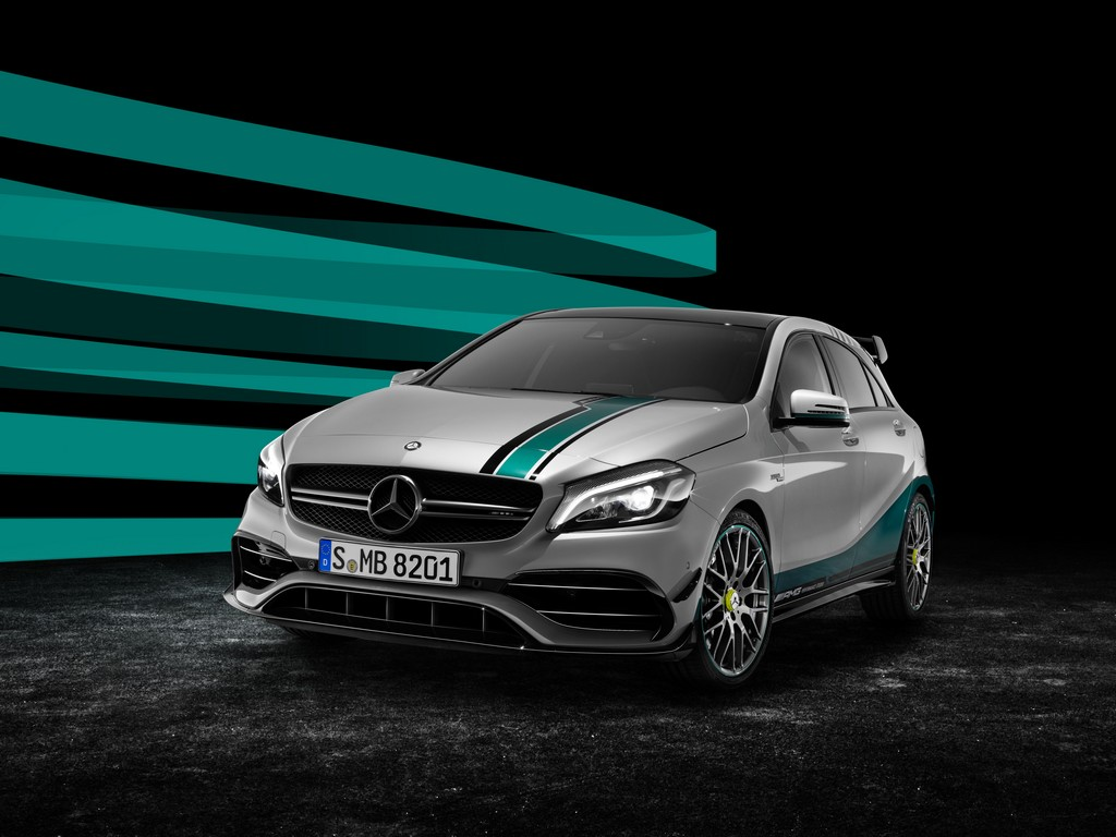 Mercedes Classe A 45 AMG PETRONAS 2015 World Champion Edition