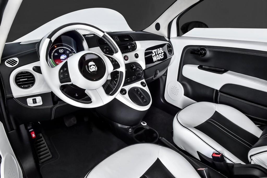 Fiat 500e Stormtrooper Cruscotto