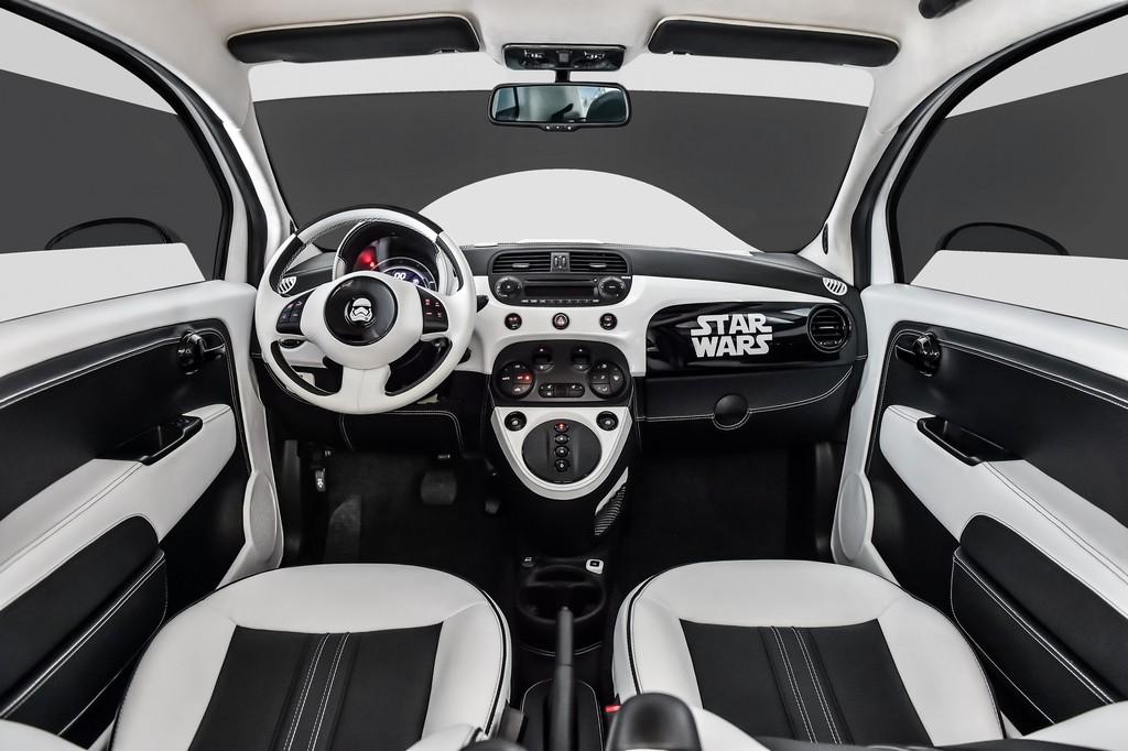 Fiat 500e Stormtrooper Interno