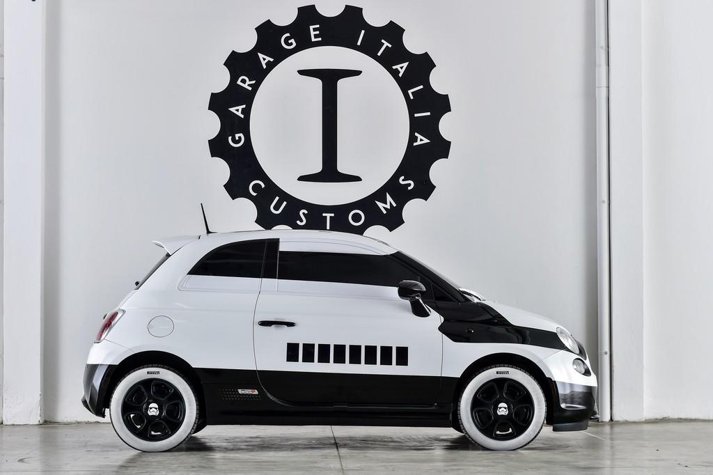 Fiat 500e Stormtrooper Lato