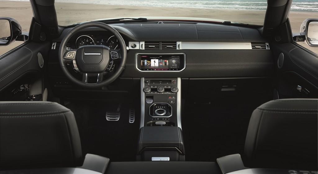 Range Rover Evoque Convertibile Cruscotto
