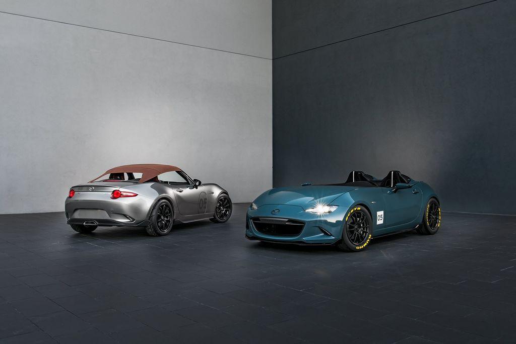 Mazda MX-5 Spyder e Speedster SEMA Show