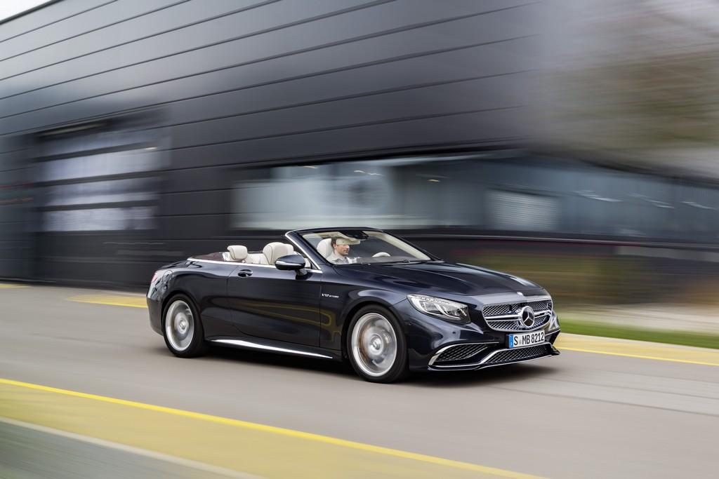 Mercedes AMG Classe S 65 AMG Cabriolet Tre Quarti