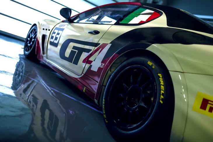 Maserati GranTurismo MCs GT4 Dettaglio