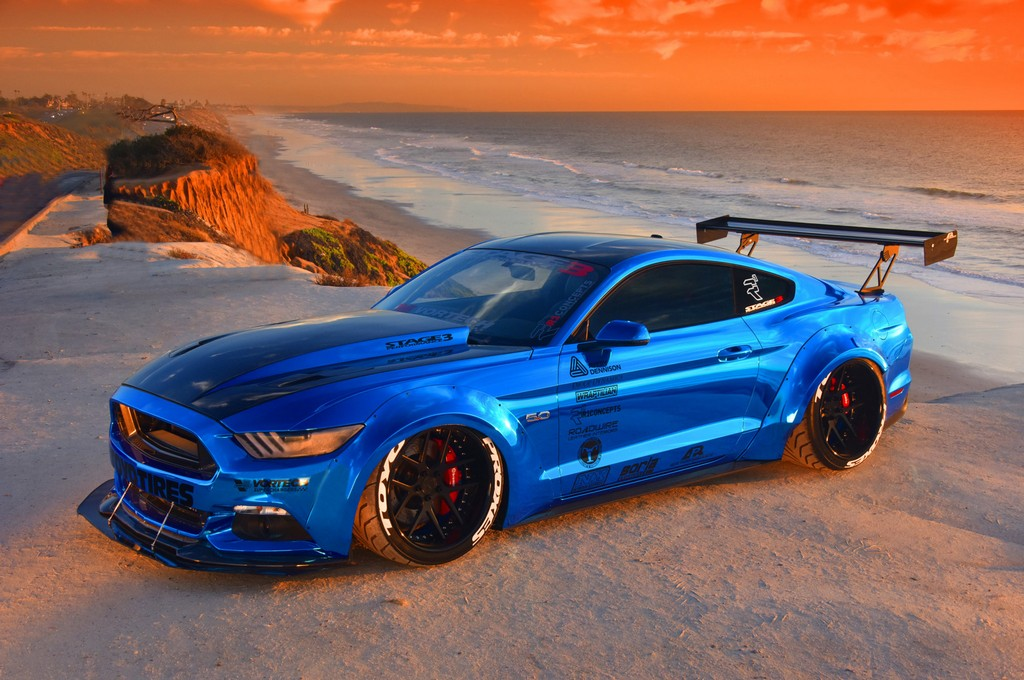 Ford Mustang Sam Soto