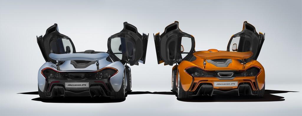 McLaren P1 375th Dietro