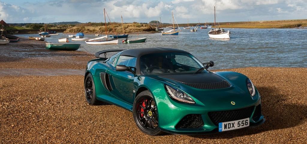 Lotus Exige 350 Tre Quarti