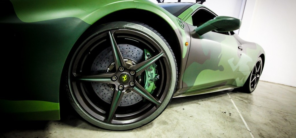 Garage Italia Customs Pirelli Ferrari Verde