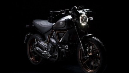 Ducati Scrambler e Italian Indipendent Davanti