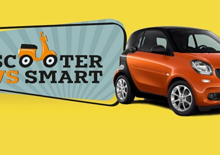 Scooter VS smart
