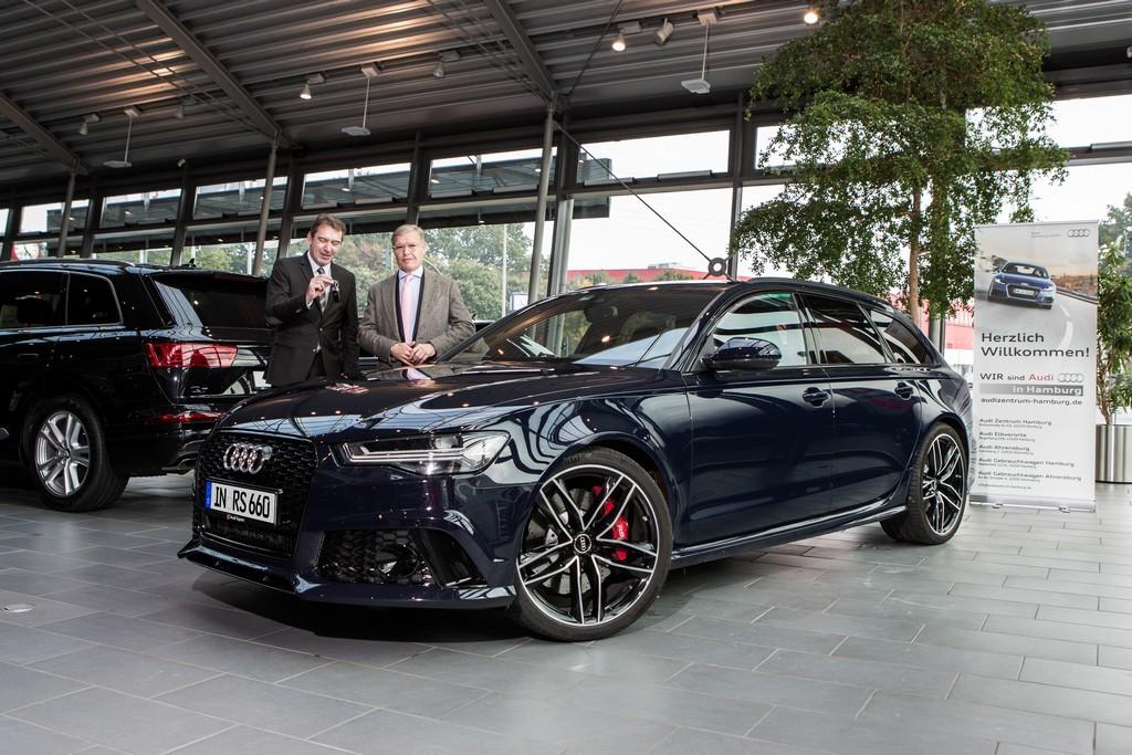 Audi RS6 Bang e Olufsen Millionesimo Cliente