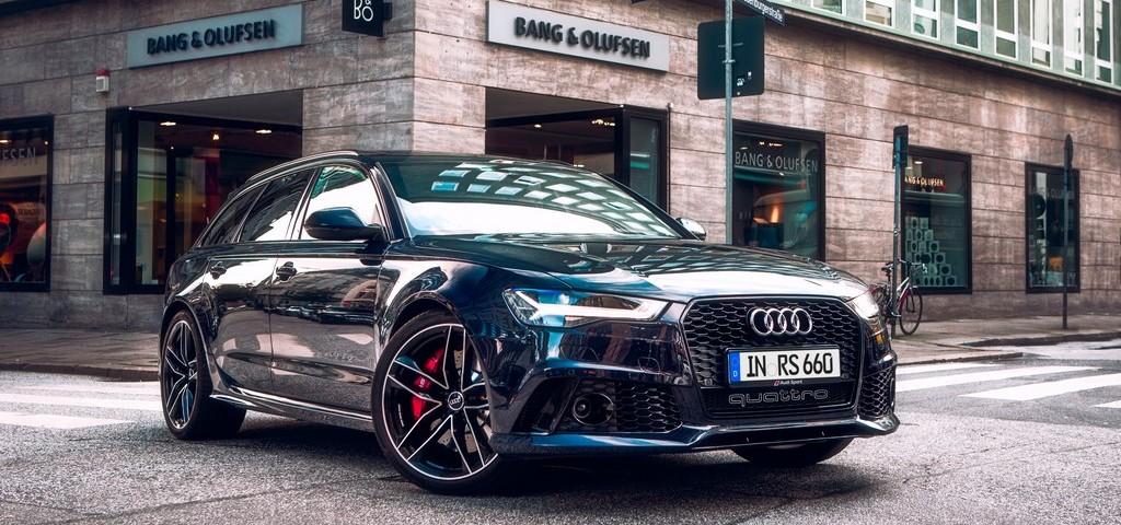 Audi RS6 Bang e Olufsen