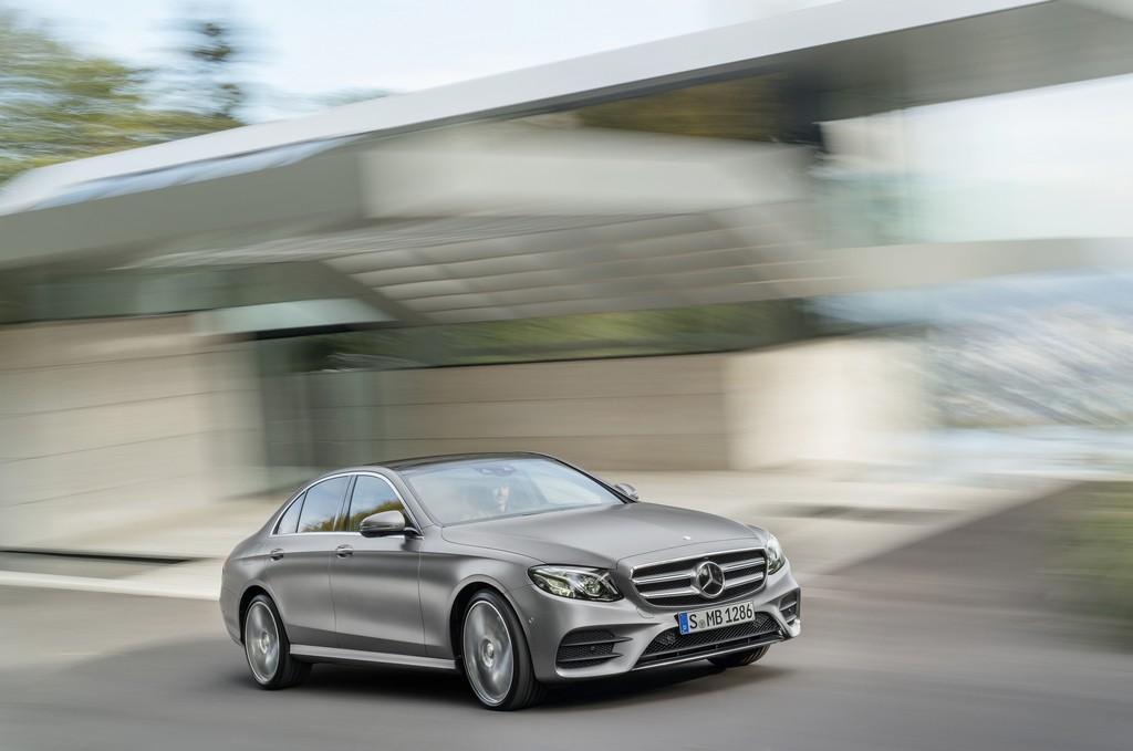 Mercedes Nuova Classe E Davanti Argento