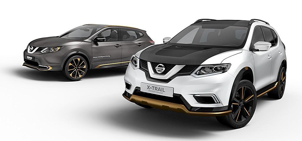 Nissan X-Trail e Qashqai Premium Concept