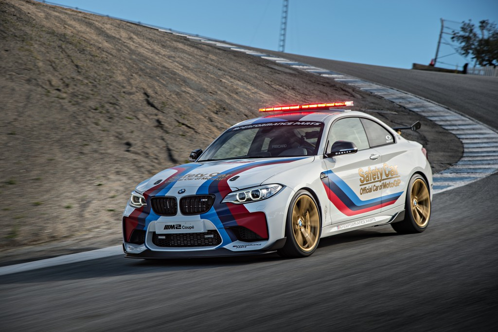 Bmw M2 La Nuova Safety Car Motogp Cavalli Vapore