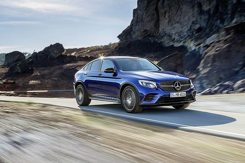 Mercedes GLC Coupe Tre Quarti Dinamica
