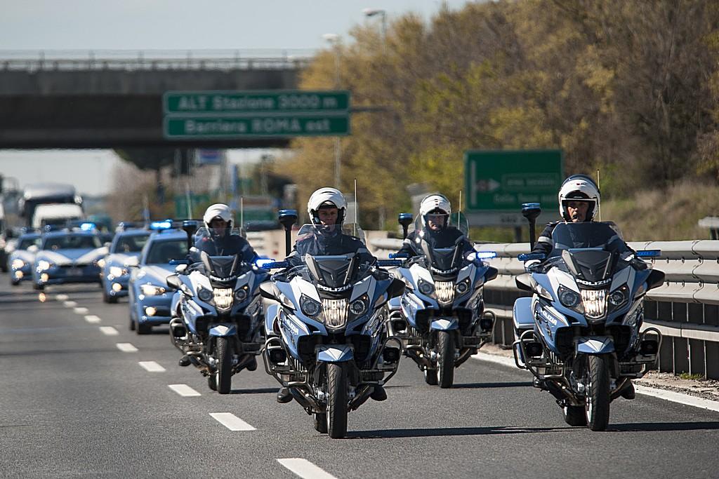 BMW e Polizia Stradale Moto