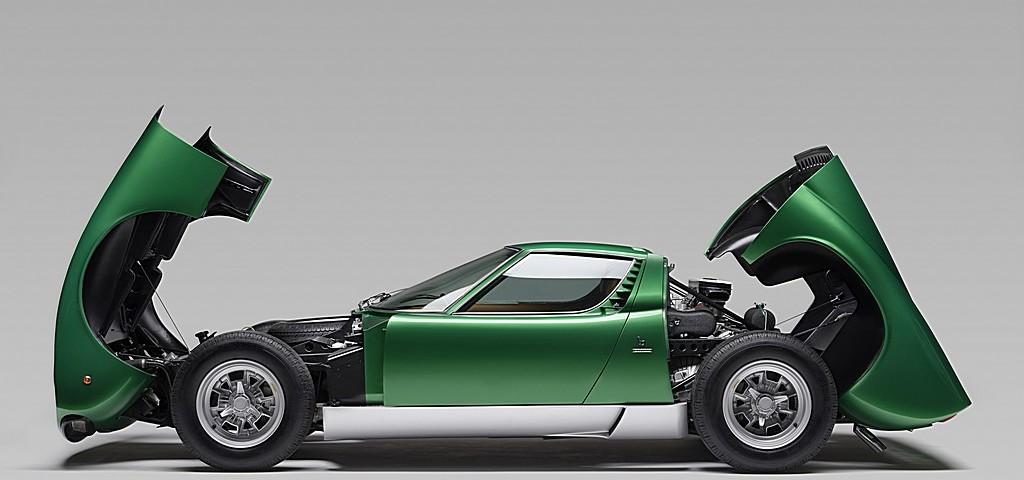 Lamborghini Miura SV Ginevra 1971