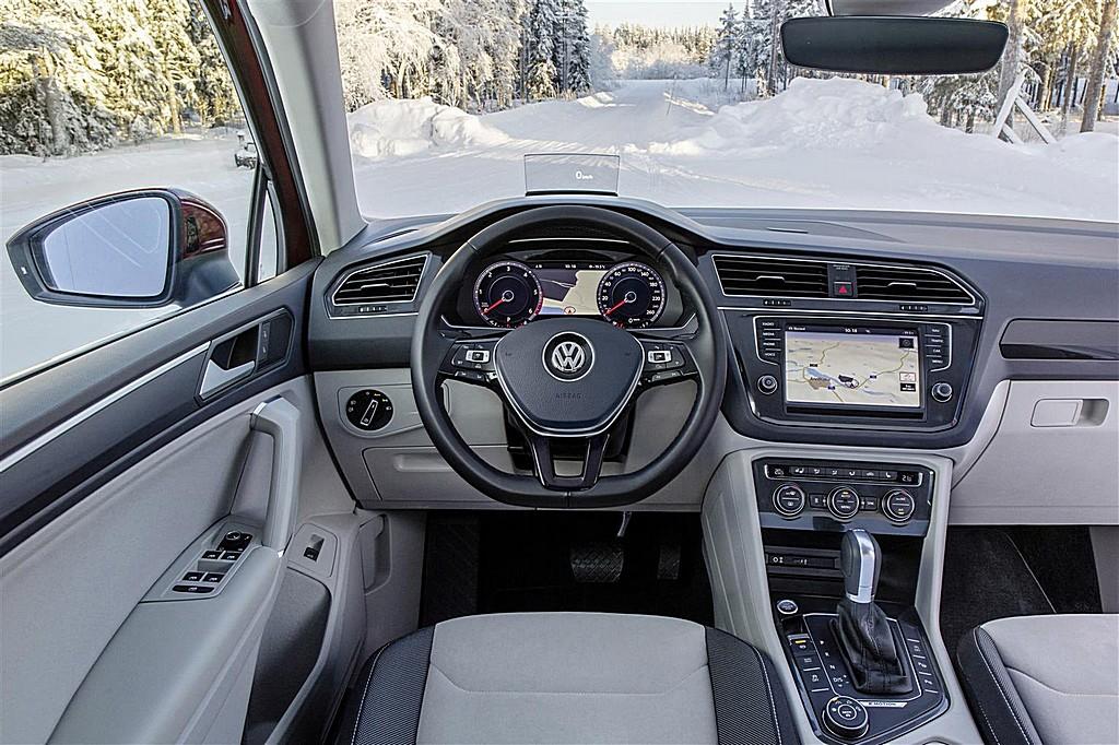 Volkswagen nuovo Tiguan Interni