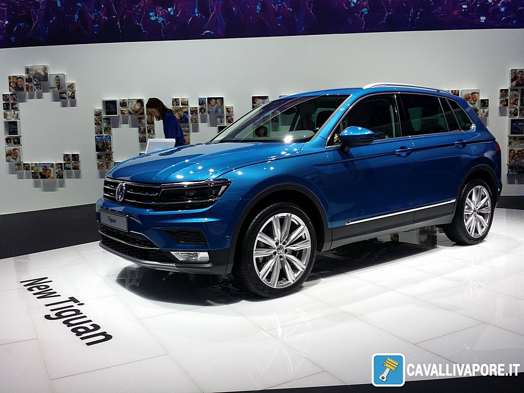 Volkswagen nuovo Tiguan LIVE GIMS 2016 Tre Quarti