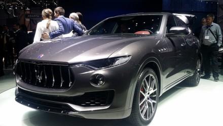 Maserati Levante LIVE GIMS 2016 Tre Quarti