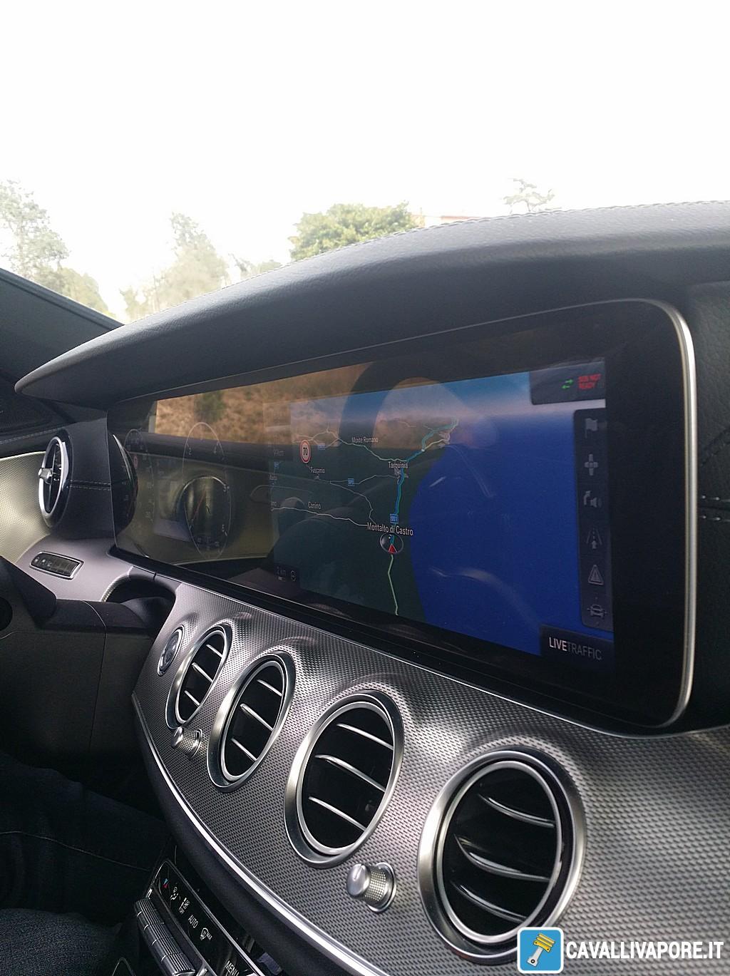 Mercedes Nuova Classe E Argentario Interno Dettaglio
