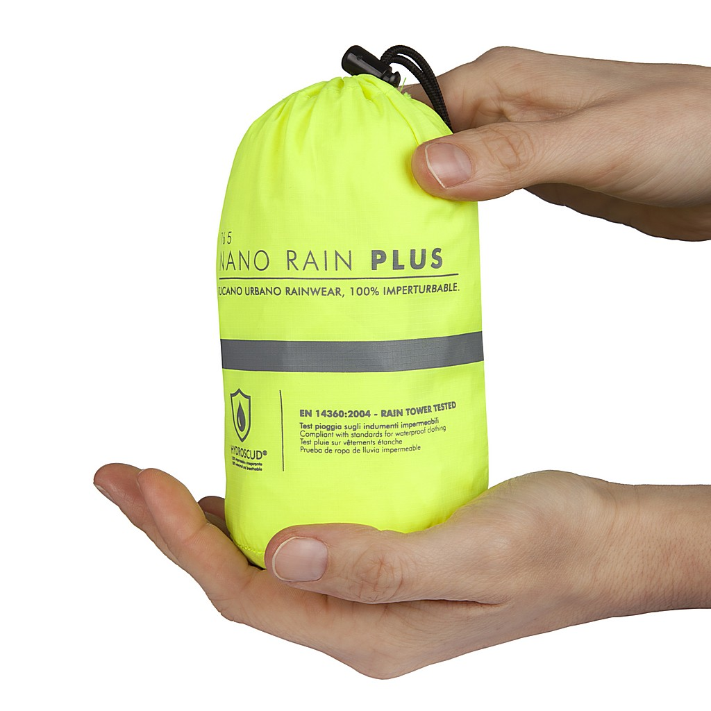 Tucano Urbano Nano Rain Jacket Plus Fluo Pack