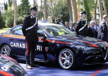 Alfa Romeo Giulia Carabinieri Quadrifoglio