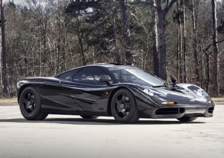 McLaren F1 Porte Chiuse