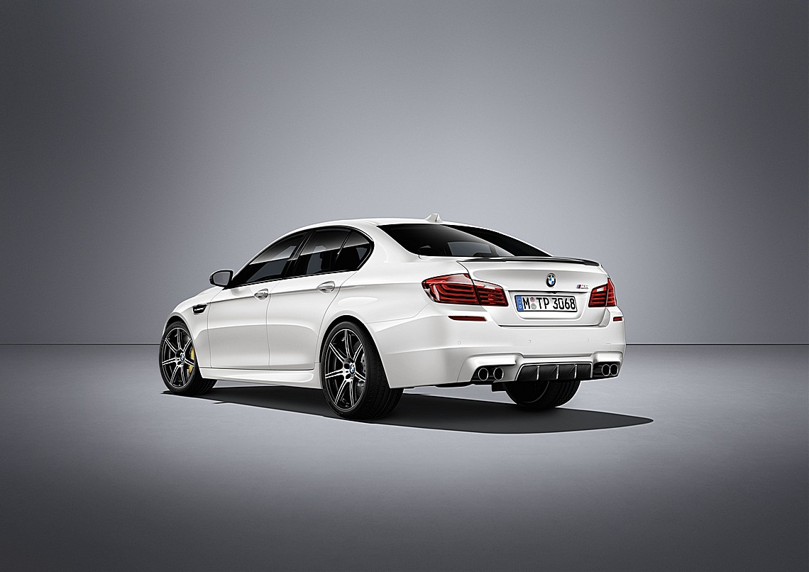 BMW M5 Competition Edition Dietro