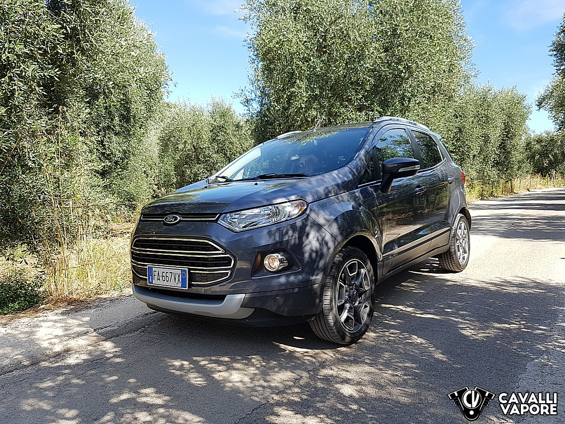 Ford Ecosport MY17 la nostra prova 5