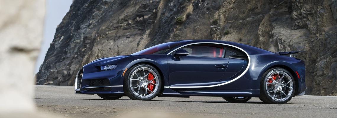Bugatti Chiron The Quail Lato