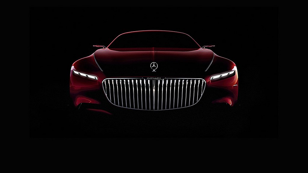 Maybach 6 Coupé Teaser