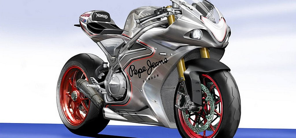 Norton Superbike Sketch