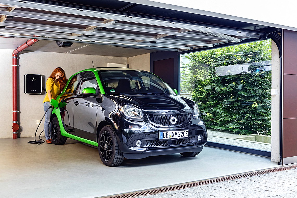 smart forfour electricdrive 5