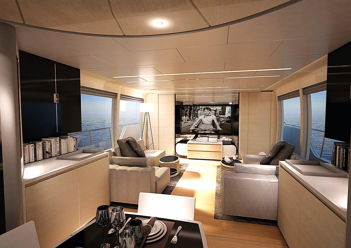 Canados il nuovo 808 maximus in costruzione cavalli vapore for Migliori cabin charter nel sud della california