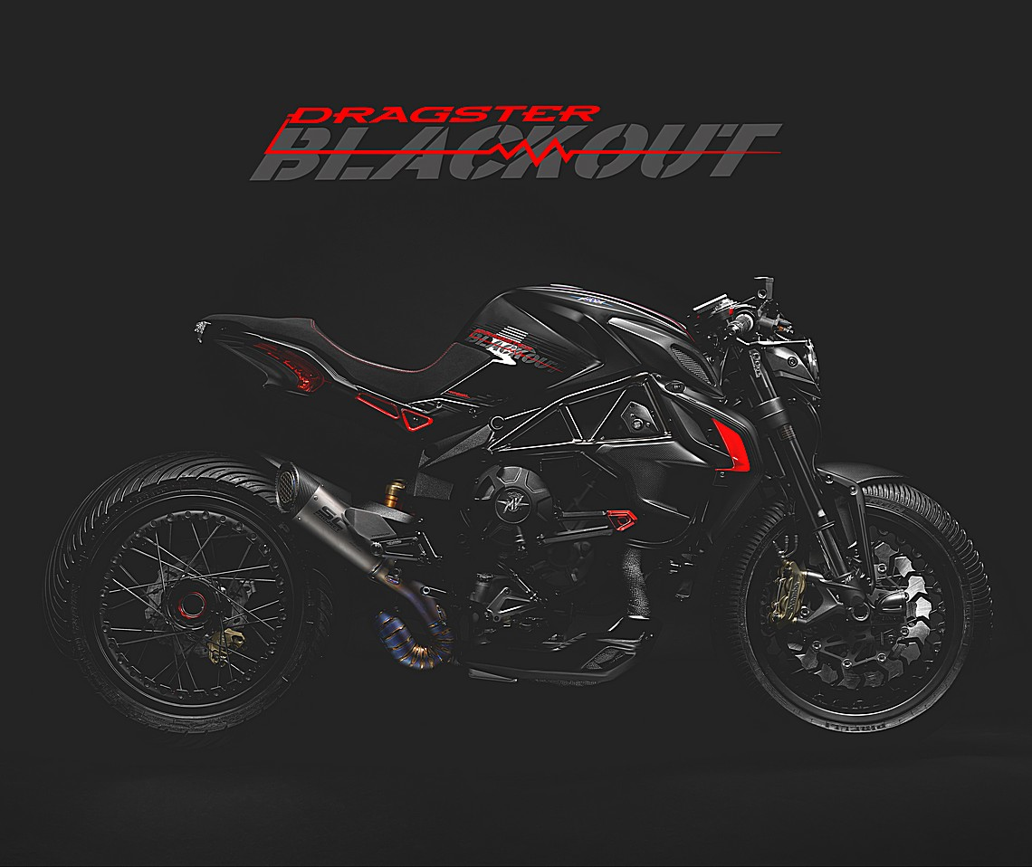 MV Agusta Dragster Blackout 2