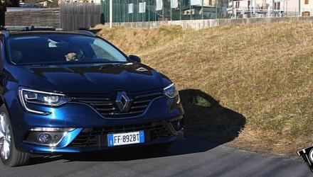 Renault Megane Sporter Intens Prova su Strada
