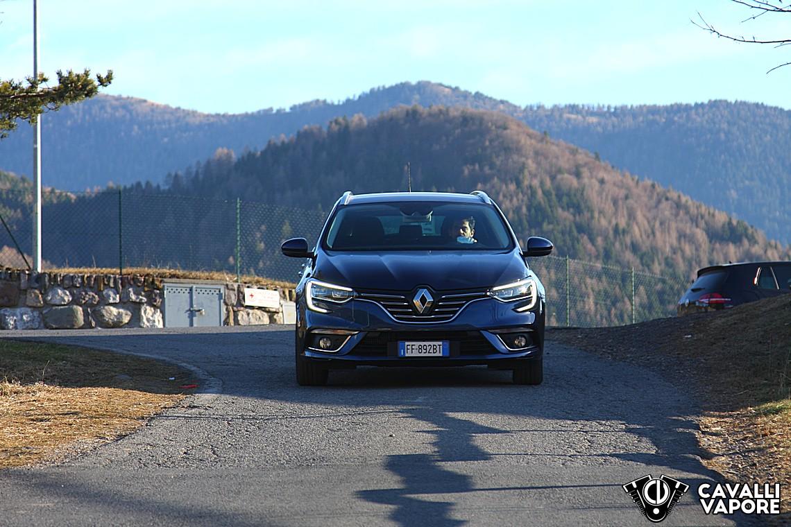 Renault Megane Sporter Intens Prova su Strada 7