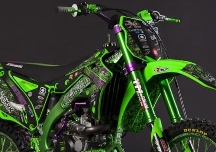 Kawasaki KX450 by Alvaro Dal Farra