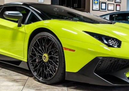 Lamborghini Aventador SV Roadster LP750-4