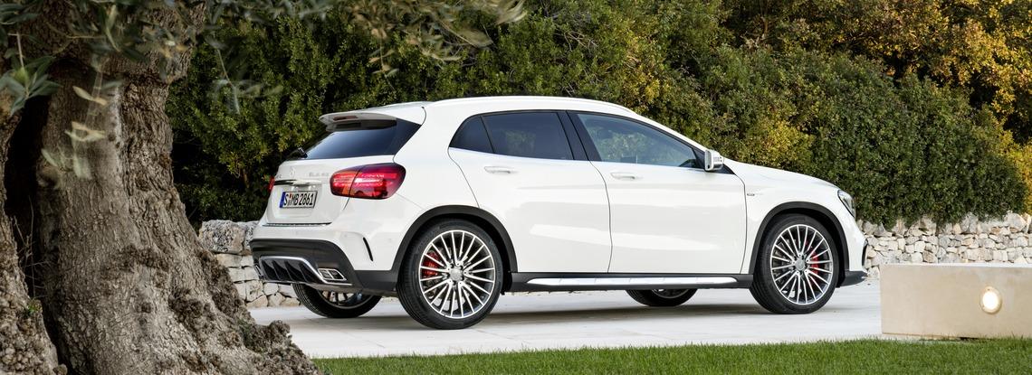 Mercedes Nuova GLA