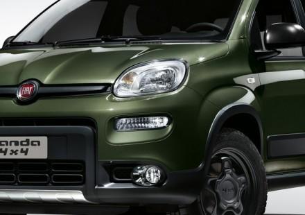Fiat Panda nuova 4x4 Davanti