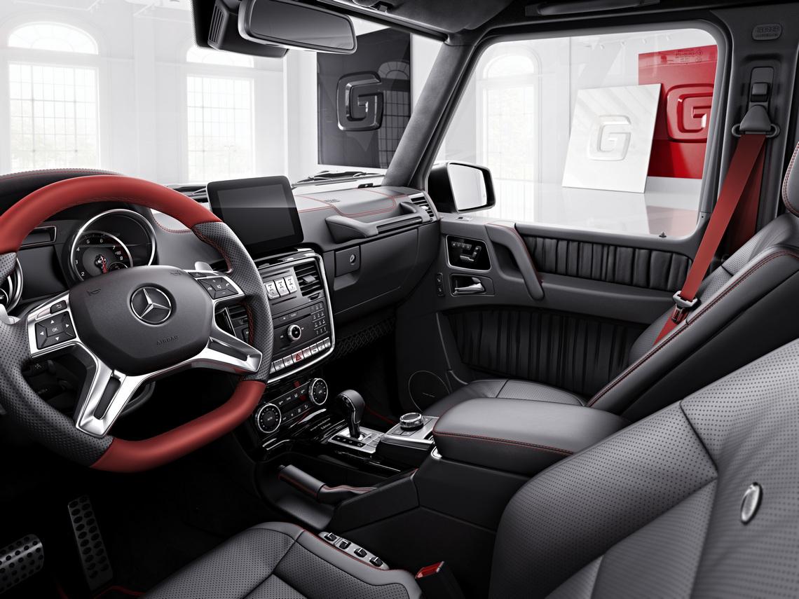 Mercedes Classe G designo manufaktur Edition Sedili