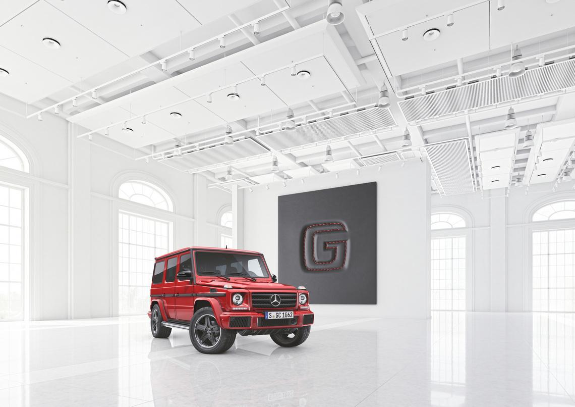 Mercedes Classe G designo manufaktur Edition