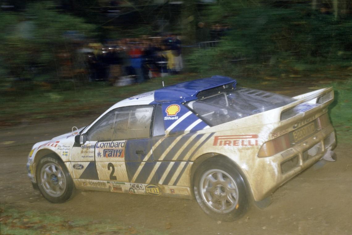 Stig Blomqvist Ford RS200 1986 Rally GB