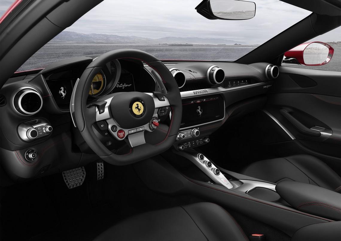 Ferrari Portofino Cockpit