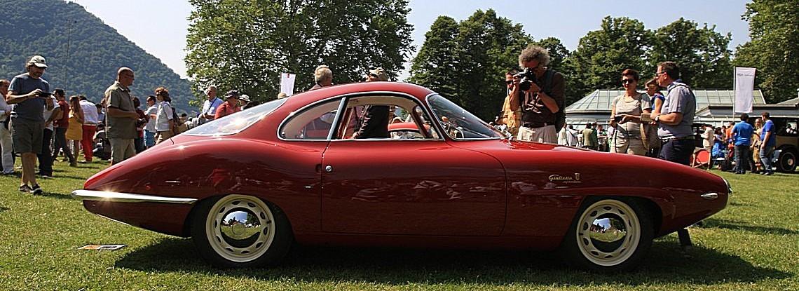 Alfa Romeo Giulietta Sprint Speciale prototipo Bertone del 1957 telaio n. 1